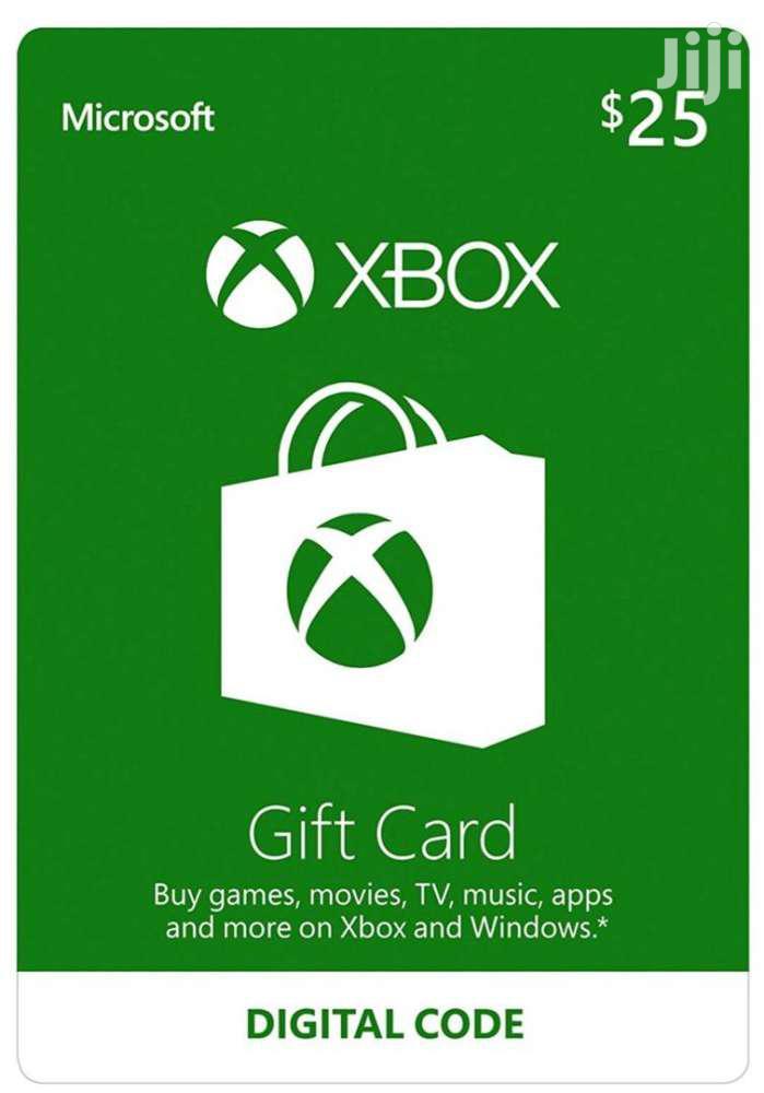 Xbox/Playstation Gift Card