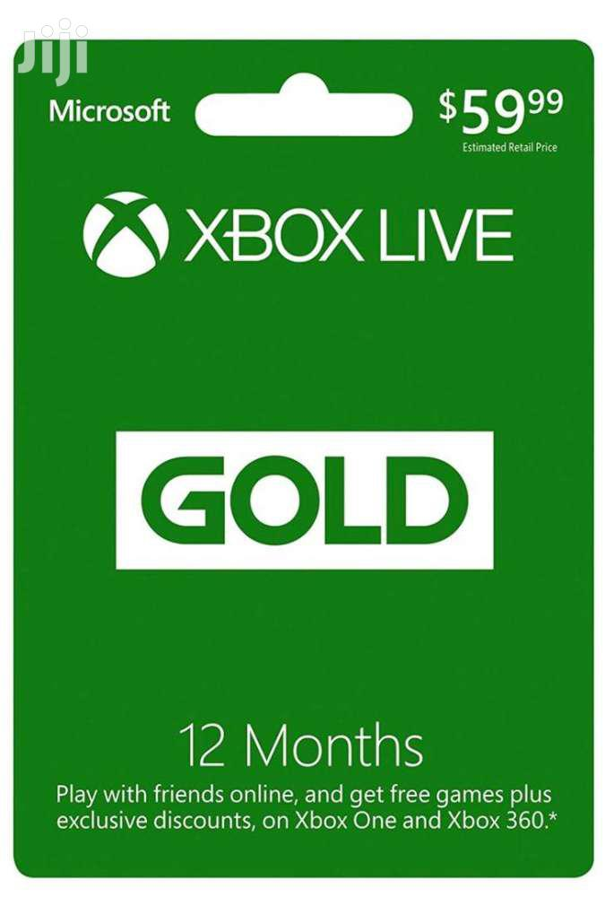 Xbox/Playstation Gift Card | Video Game Consoles for sale in Avenor Area, Greater Accra, Ghana