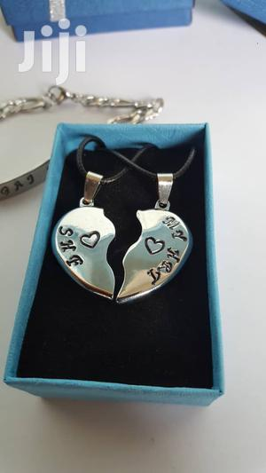 Customized Heart Stainless Necklace   Jewelry for sale in Nima, Kanda