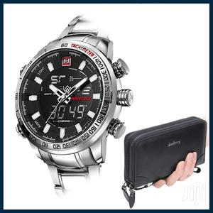 Analog Naviforce Watch and Long Wallet | Watches for sale in Greater Accra, Achimota