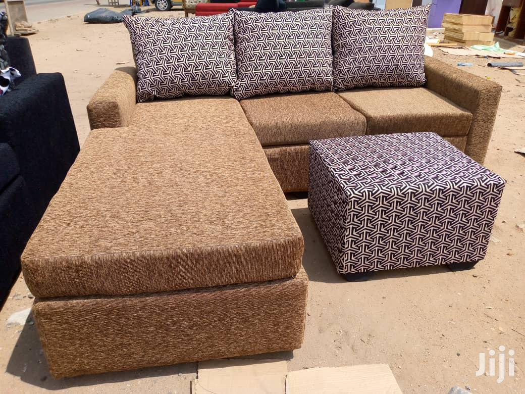 Brand New L Shape Sofa Chairs/ Promotion   Furniture for sale in Achimota, Greater Accra, Ghana