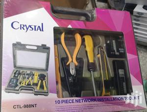 CRYSTAL 10 Piece Installerpart Tool Network Installation Kit | Tools & Accessories for sale in Western Region, Shama Ahanta East Metropolitan