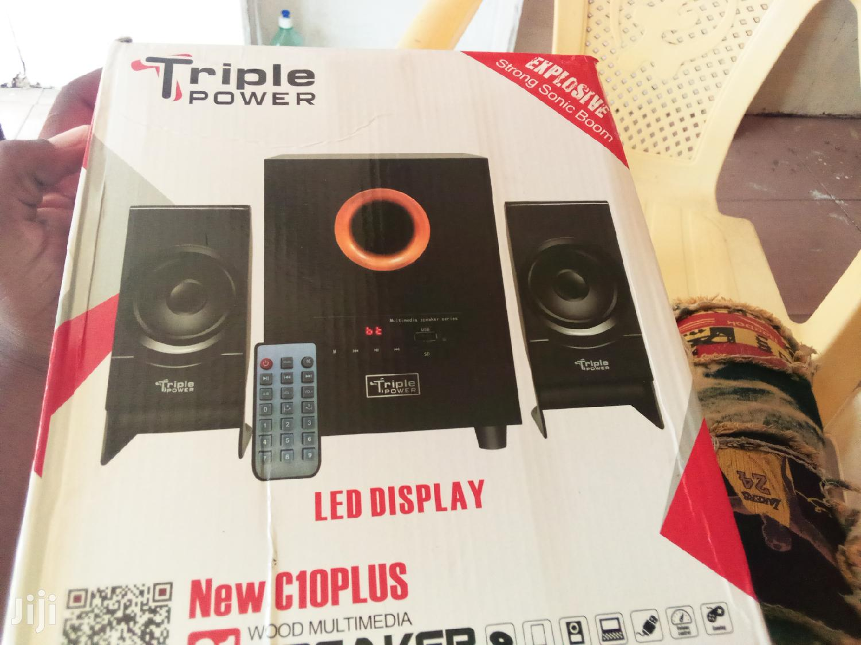 Triple Power Sound System