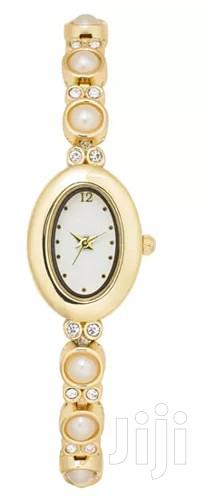 Gold-Tone Pearl Stud Watch by Charter Club | Watches for sale in Okponglo, Greater Accra, Ghana