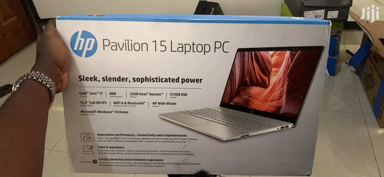 Archive: New Laptop HP Pavilion 15 8GB Intel Core i7 SSD 512GB