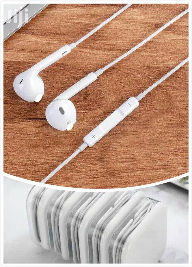 Apple Earpods With Lightning Connector - White | Headphones for sale in Achimota, Greater Accra, Ghana