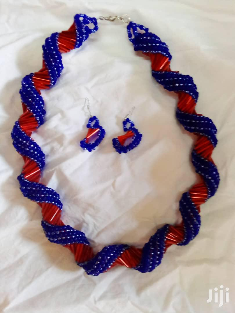 Beaded Straw Russian Spiral