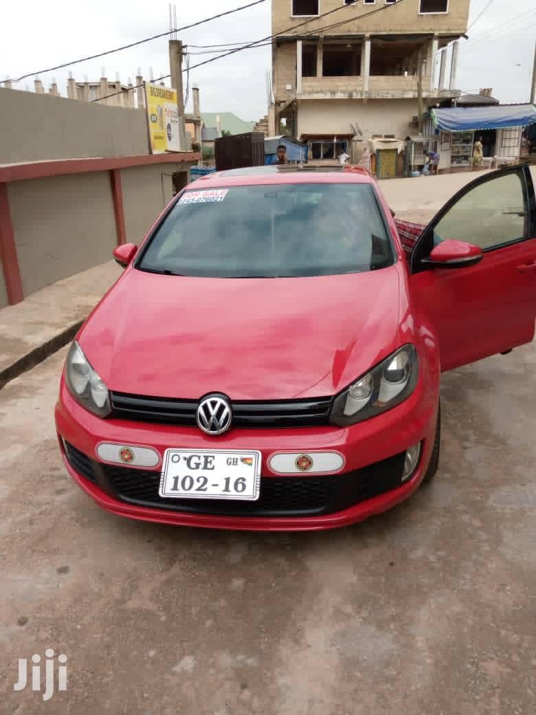 Volkswagen Golf GTI 2013 Red