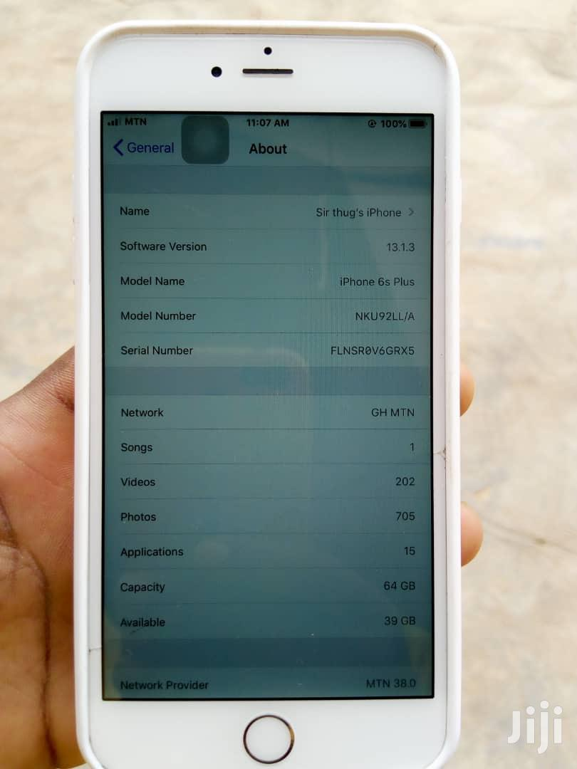 Archive: Apple iPhone 6s Plus 64 GB Gold