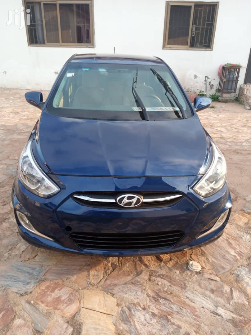 Hyundai Accent 2015 Blue