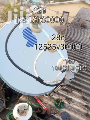 Satellite Dish Installation of All Kinds | Building & Trades Services for sale in Volta Region, Agotime Ziope