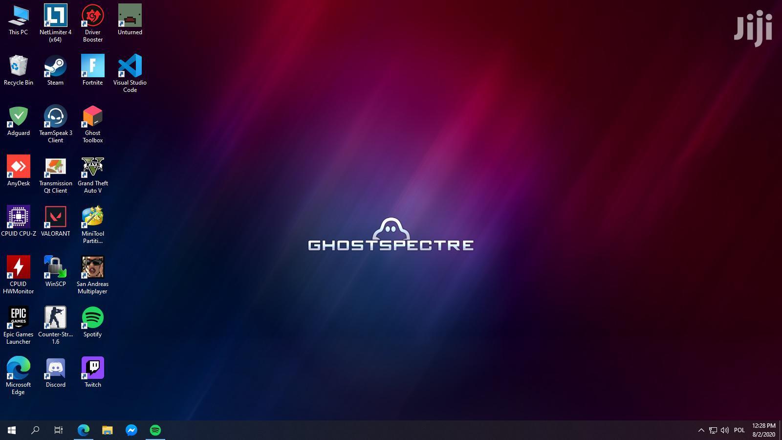 Windows 10 PRO Ghost Spectre 2021 Version 2004 64bit