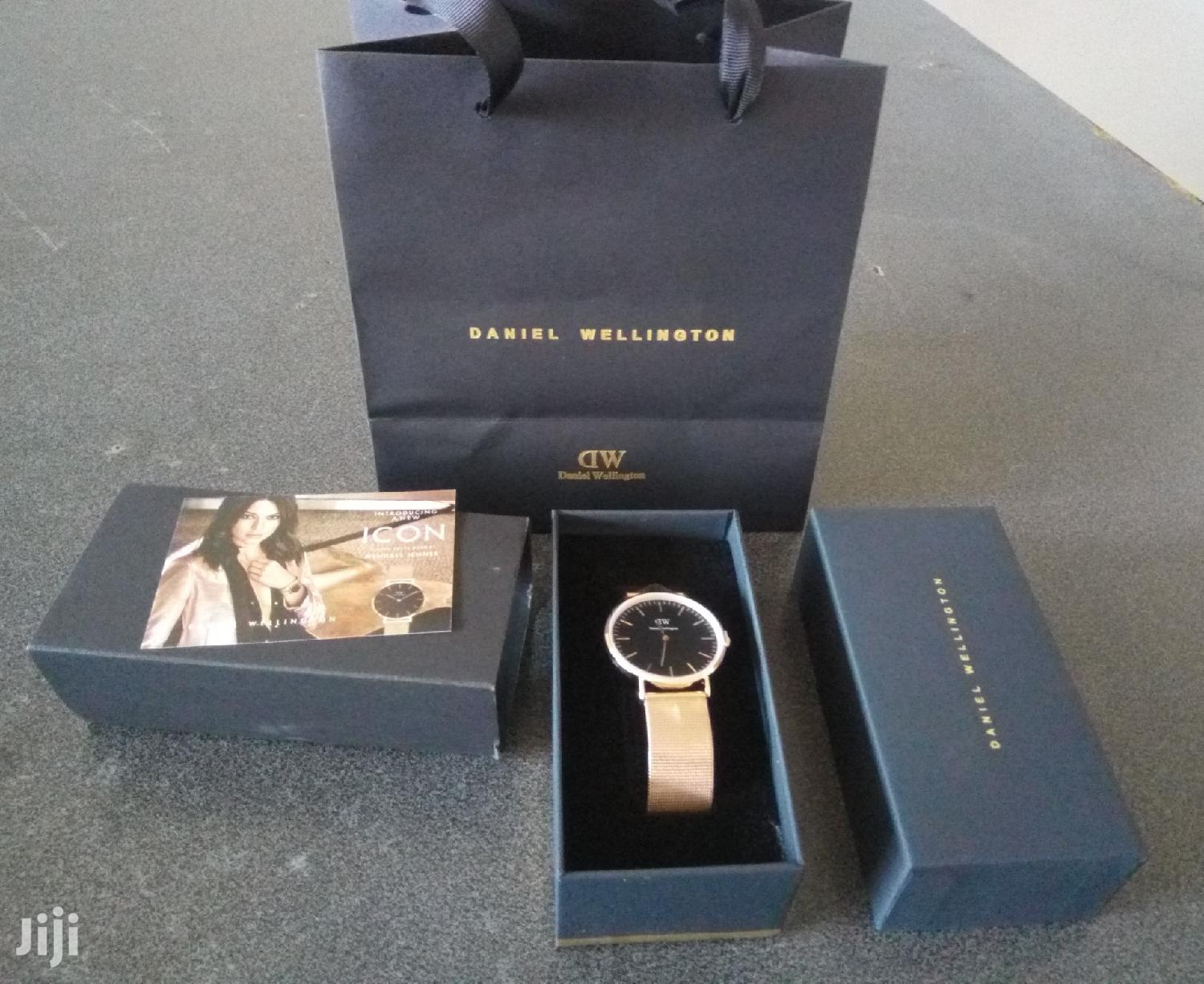 Rose Gold Daniel Wellington Mesh Watch