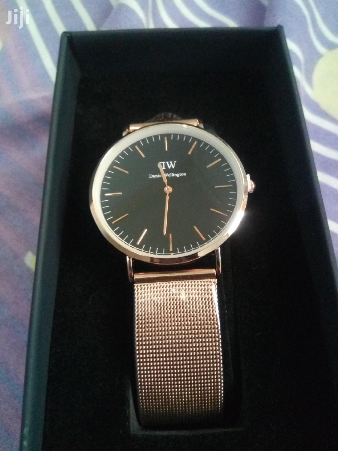 Rose Gold Daniel Wellington Mesh Watch | Watches for sale in Okponglo, Greater Accra, Ghana