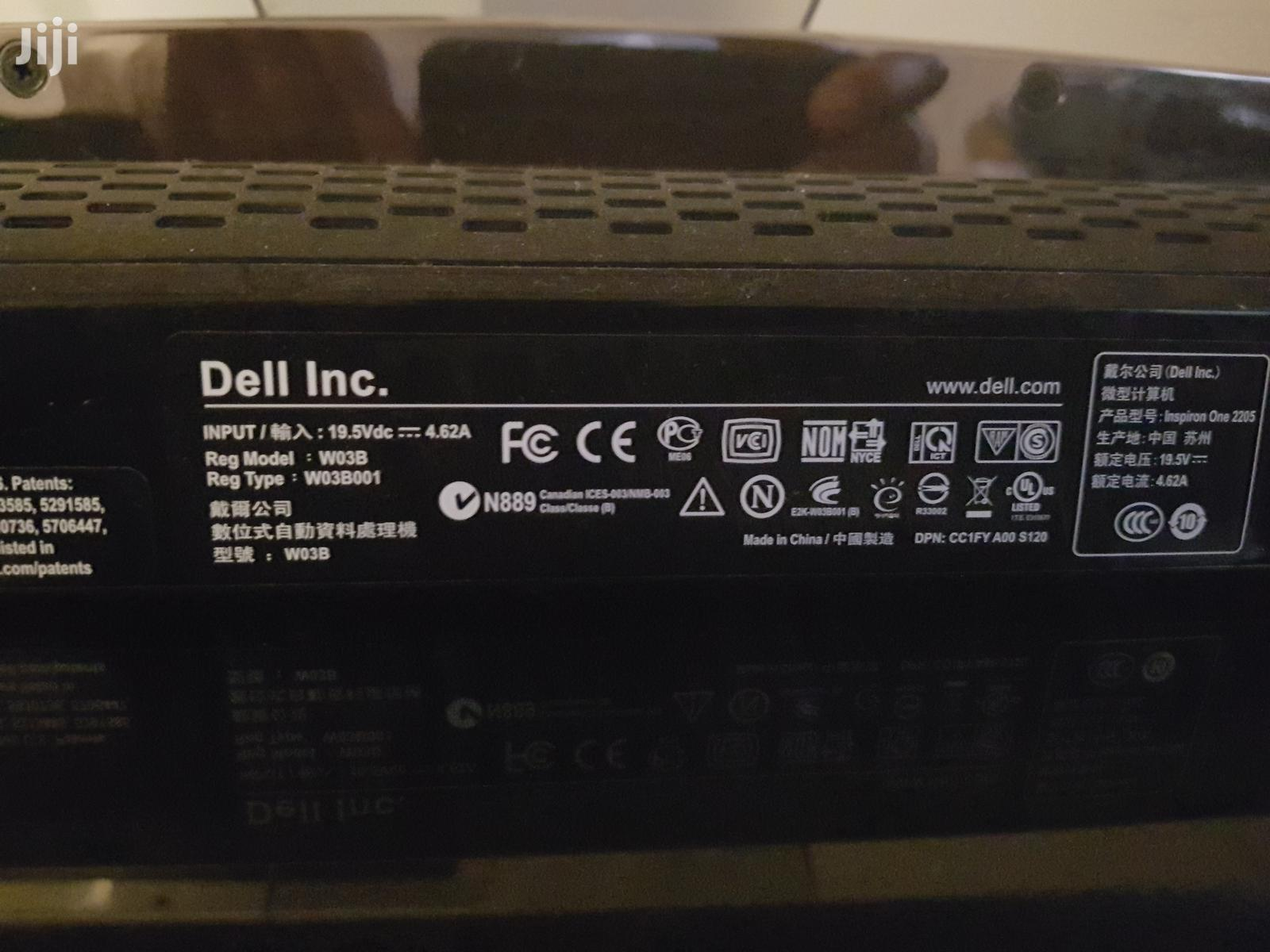 Archive: Desktop Computer Dell Inspiron One 2205 4GB Intel Core 2 Duo HDD 500GB