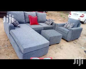 Come for Fresh Gray Color L-Shaped Sofa Chair | Furniture for sale in Greater Accra, Adabraka