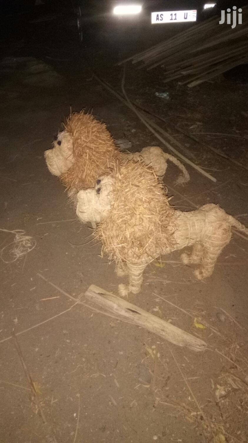 Cane Grass Art Lion   Arts & Crafts for sale in North Labone, Greater Accra, Ghana