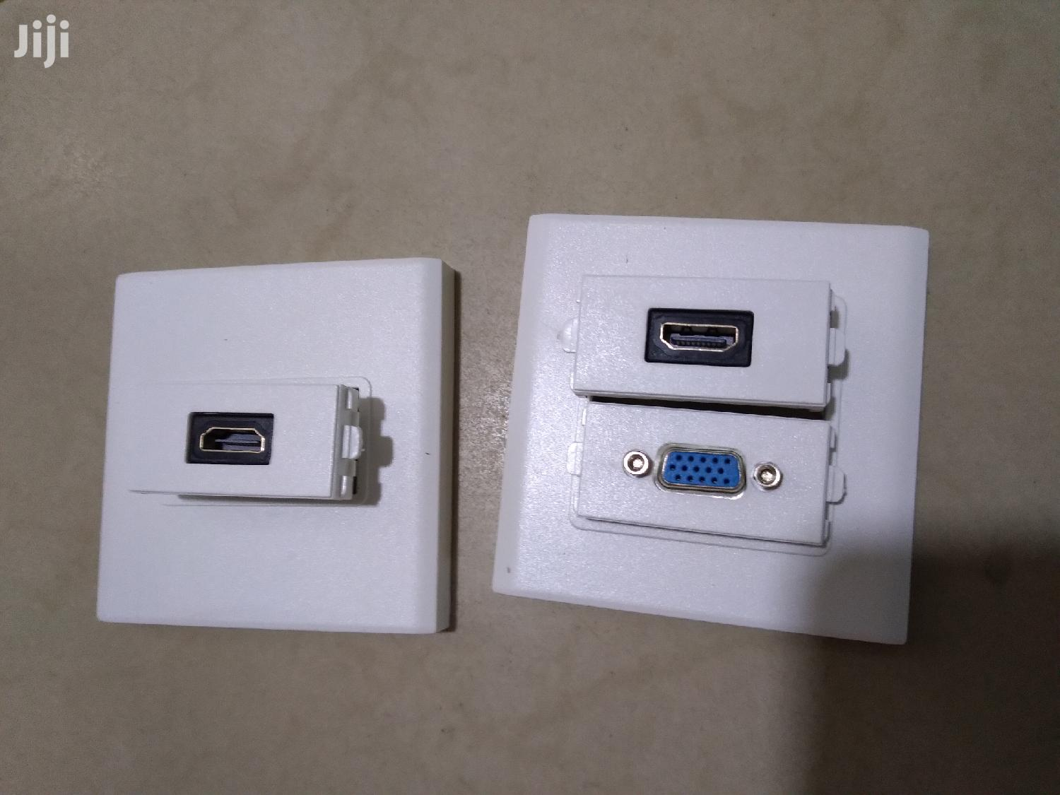 Hdmi Wall Socket | Accessories & Supplies for Electronics for sale in Achimota, Greater Accra, Ghana