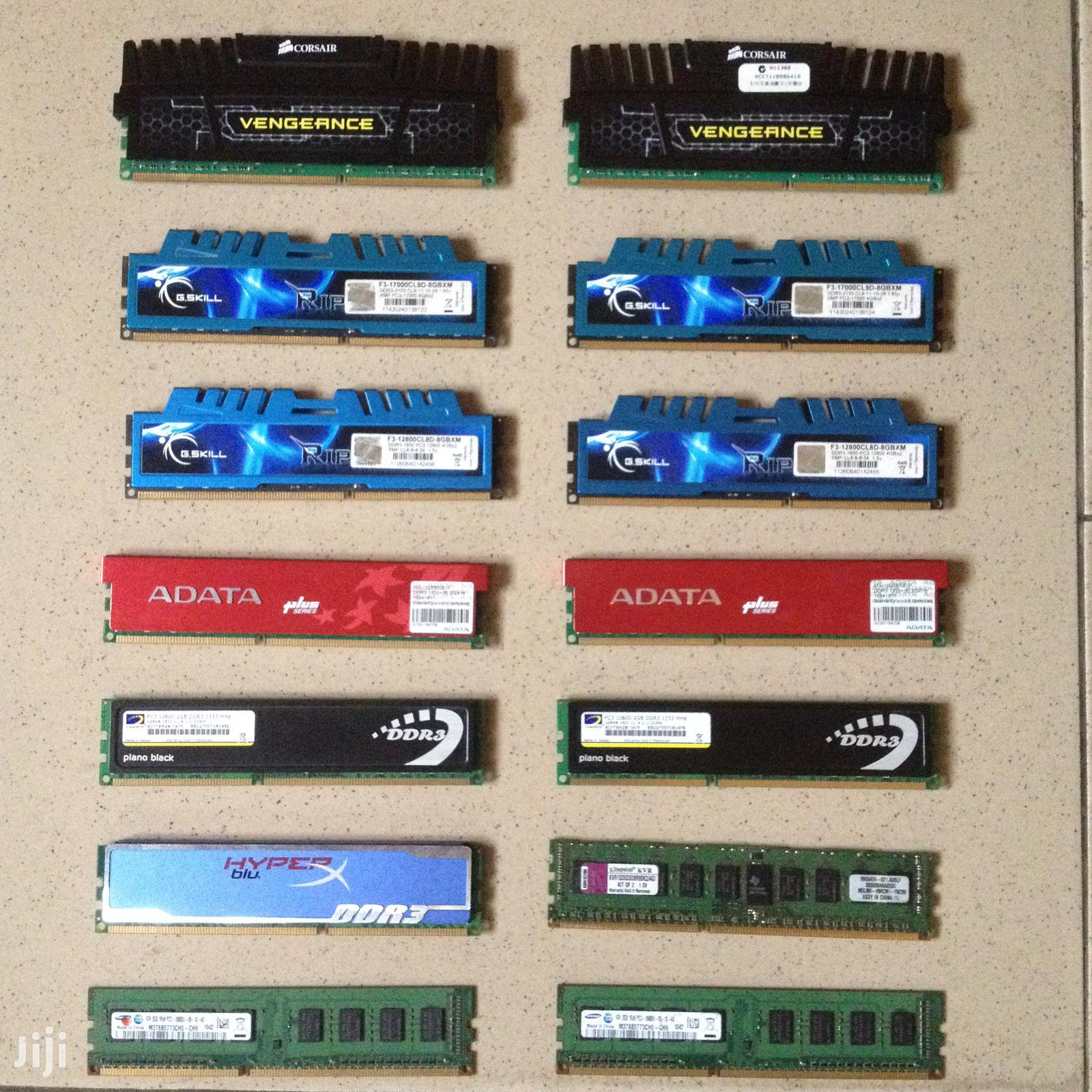 Ddr3 Ram / Memory for Desktop | Computer Hardware for sale in Adabraka, Greater Accra, Ghana