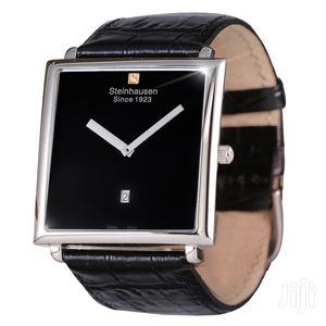 Steinhausen Men's Swiss Quartz Leather Watch   Watches for sale in Greater Accra, Abelemkpe