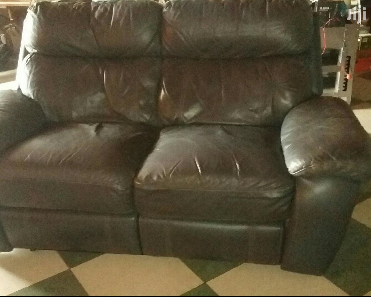 Double Seater Sofa Recliner