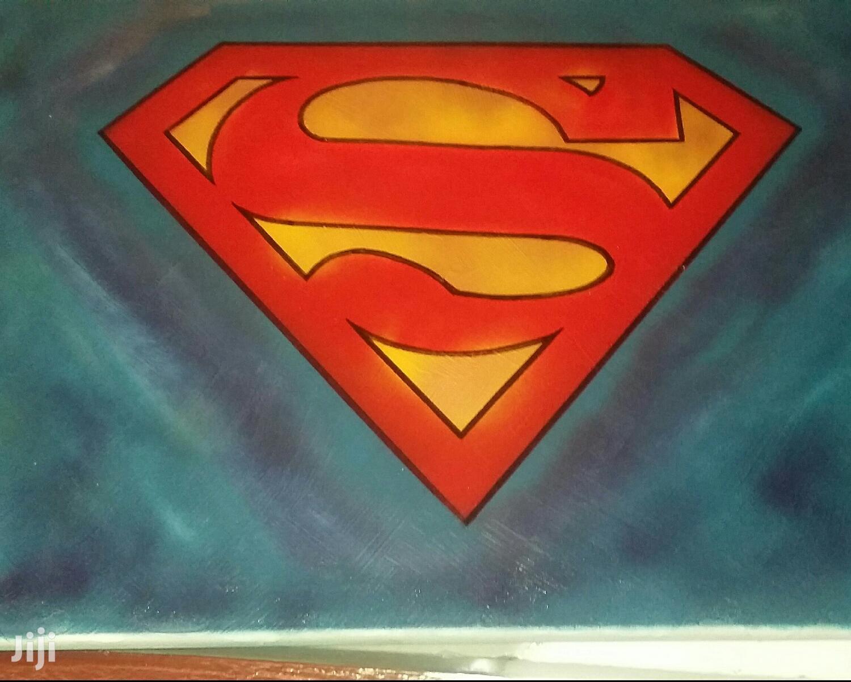 Superman Art on Canvas