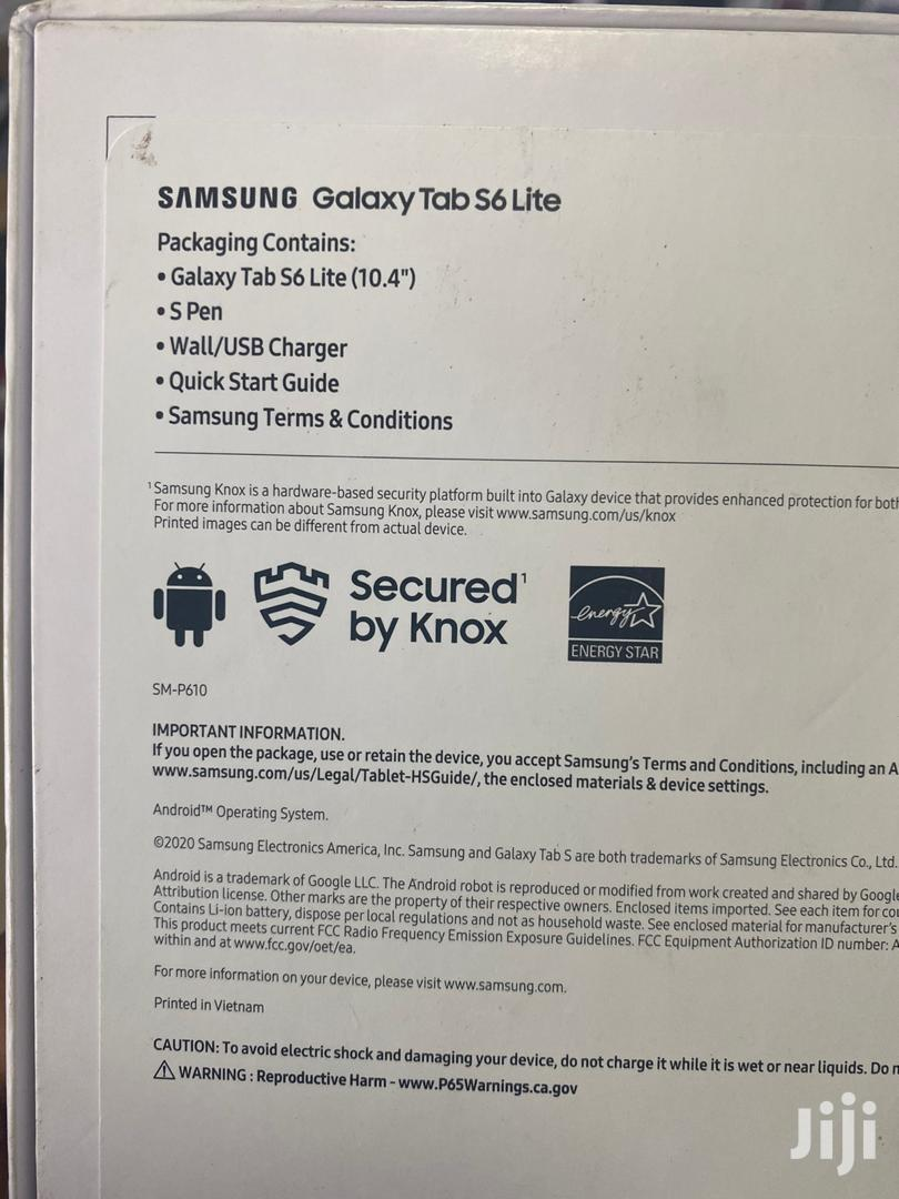 New Samsung Galaxy Tab S6 Lite 64 GB Black | Tablets for sale in Darkuman, Greater Accra, Ghana