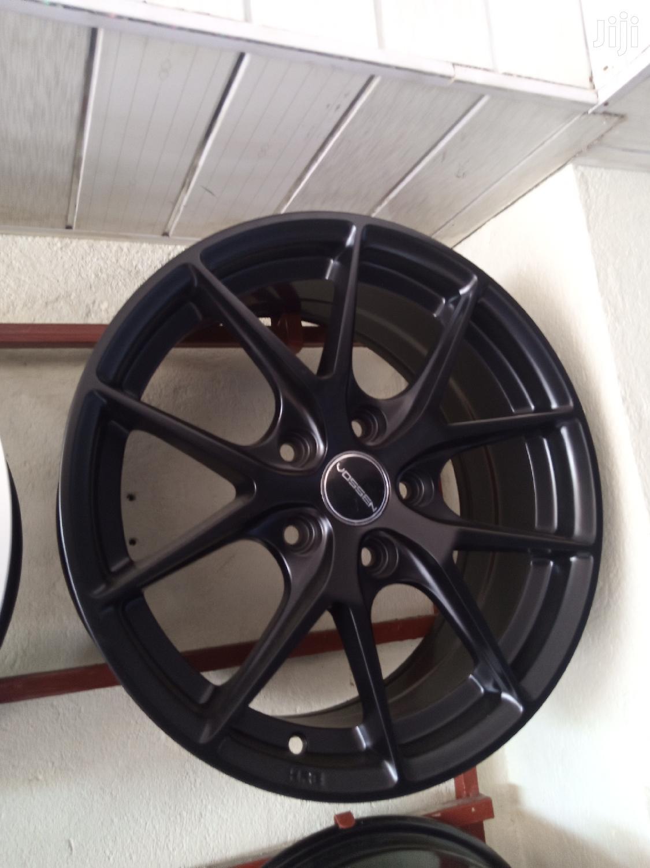 Original Mat Black Rims in All Sizes