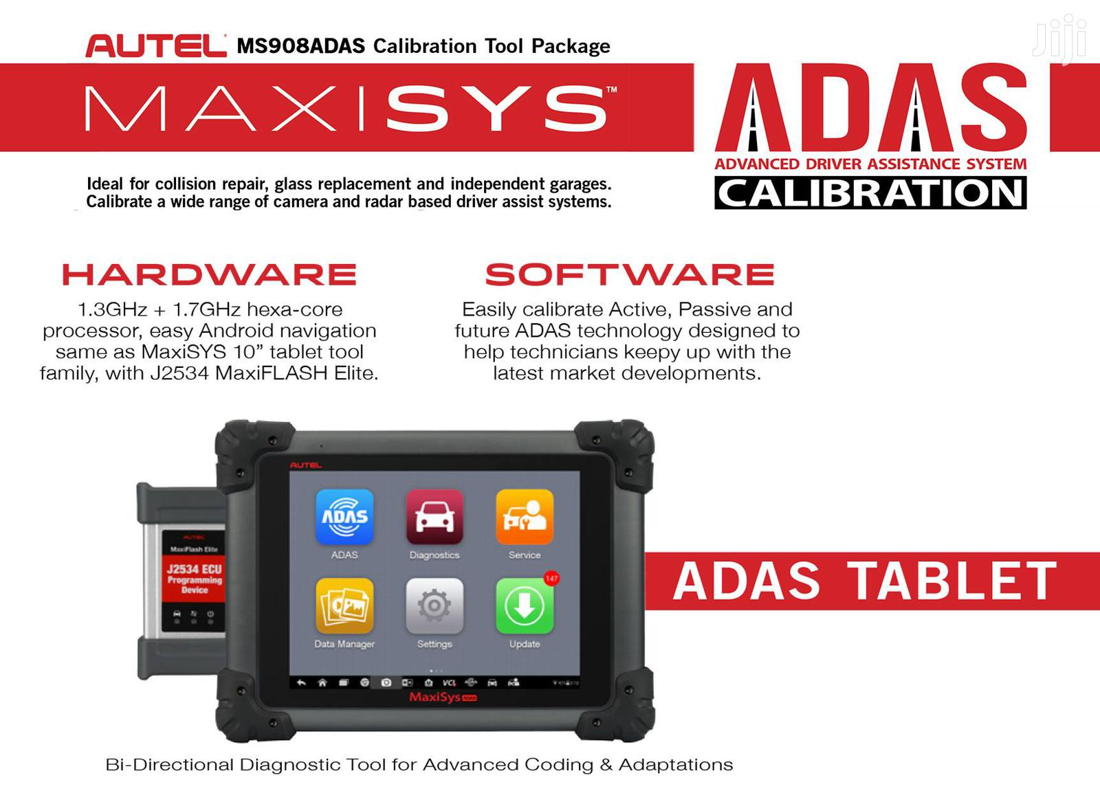 Autel Maxisys Scan Tool With ADAS Calibration Tablet MSADAS