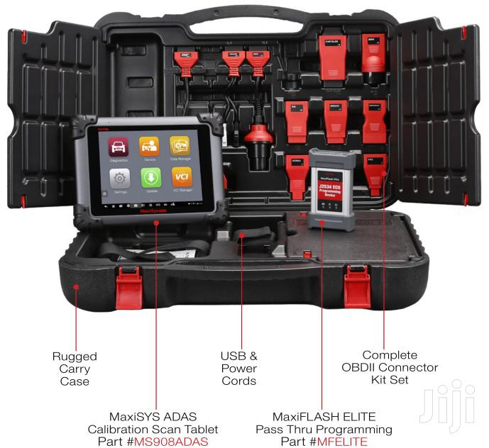 Autel Maxisys Scan Tool With ADAS Calibration Tablet MSADAS | Vehicle Parts & Accessories for sale in Darkuman, Greater Accra, Ghana