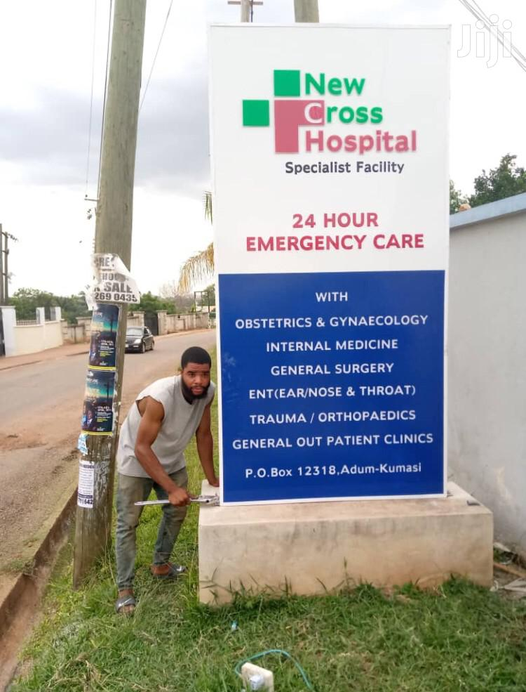 3D Signage For Hotels Hospitals Restaurants Pharmacy Hostels Etc | Manufacturing Services for sale in Kumasi Metropolitan, Ashanti, Ghana