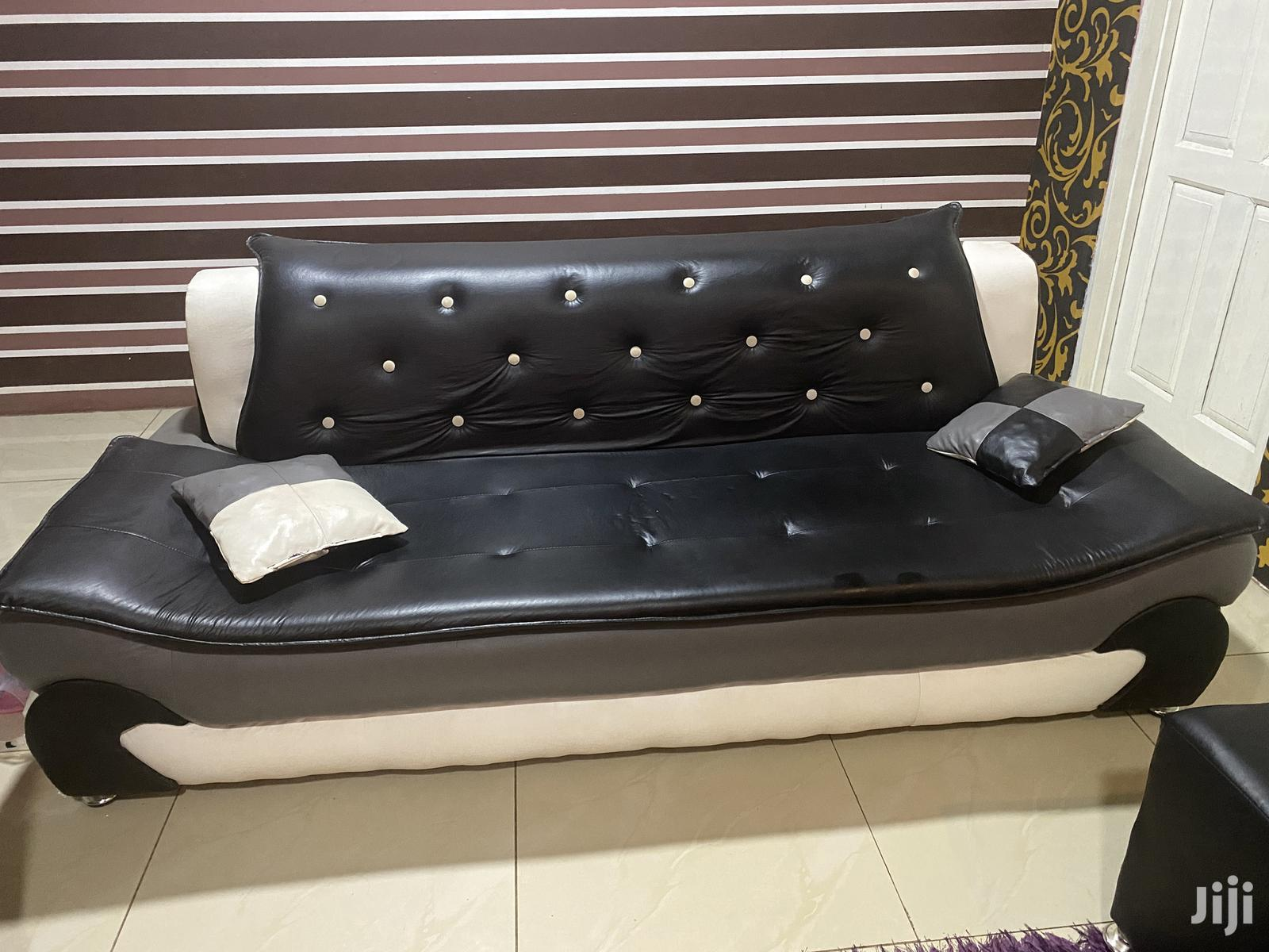 Slightly Used but Neat 3in1sofa ,2in1 Sofa With Center Table   Furniture for sale in East Legon, Greater Accra, Ghana
