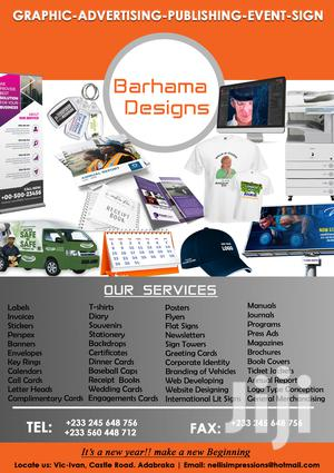 Graphic Designer | Computer & IT Services for sale in Greater Accra, Alajo