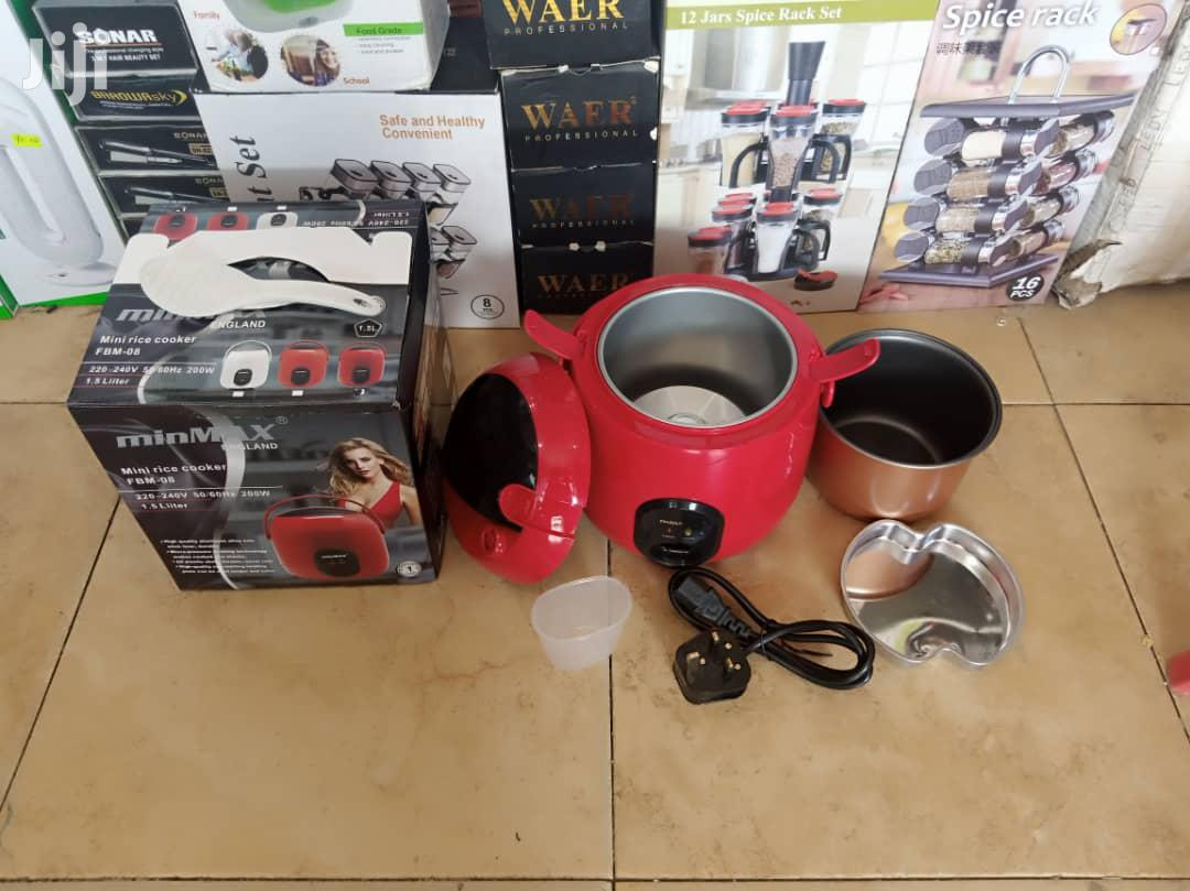 Portable Rice Cooker Minmax