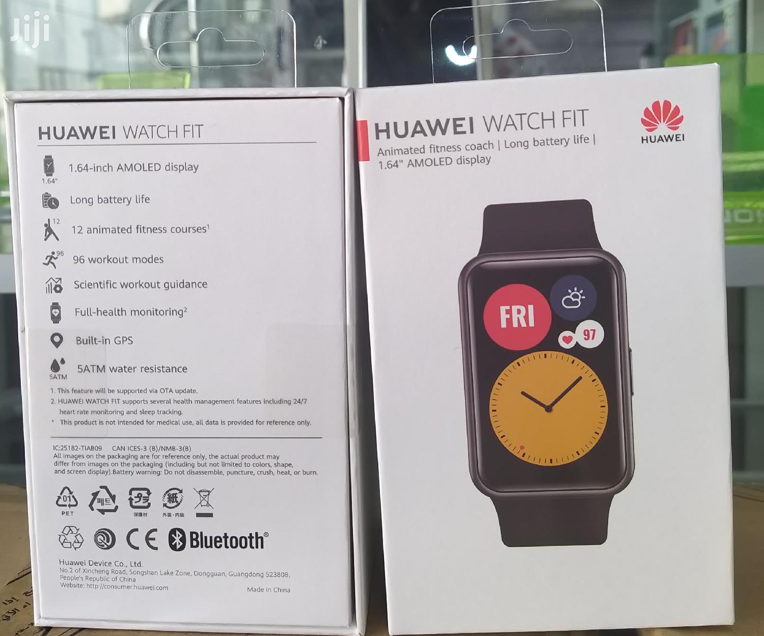 Huawei Watch Fit | Smart Watches & Trackers for sale in Avenor Area, Greater Accra, Ghana