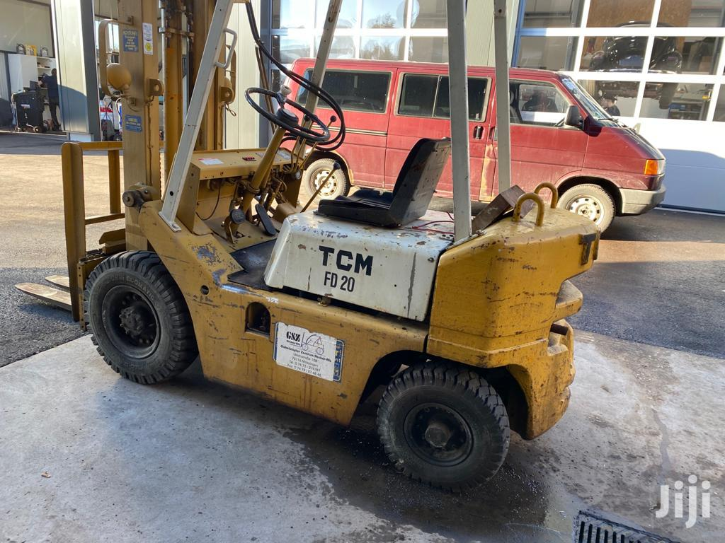 2 Tonne TCM Diesel Powered Forklift From Germany | Heavy Equipment for sale in Achimota, Greater Accra, Ghana