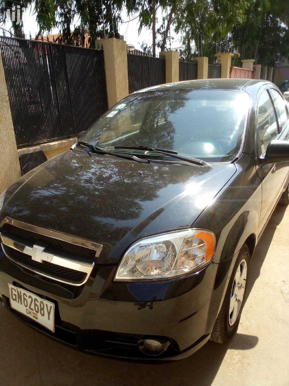 Chevrolet Aveo 2003 Black