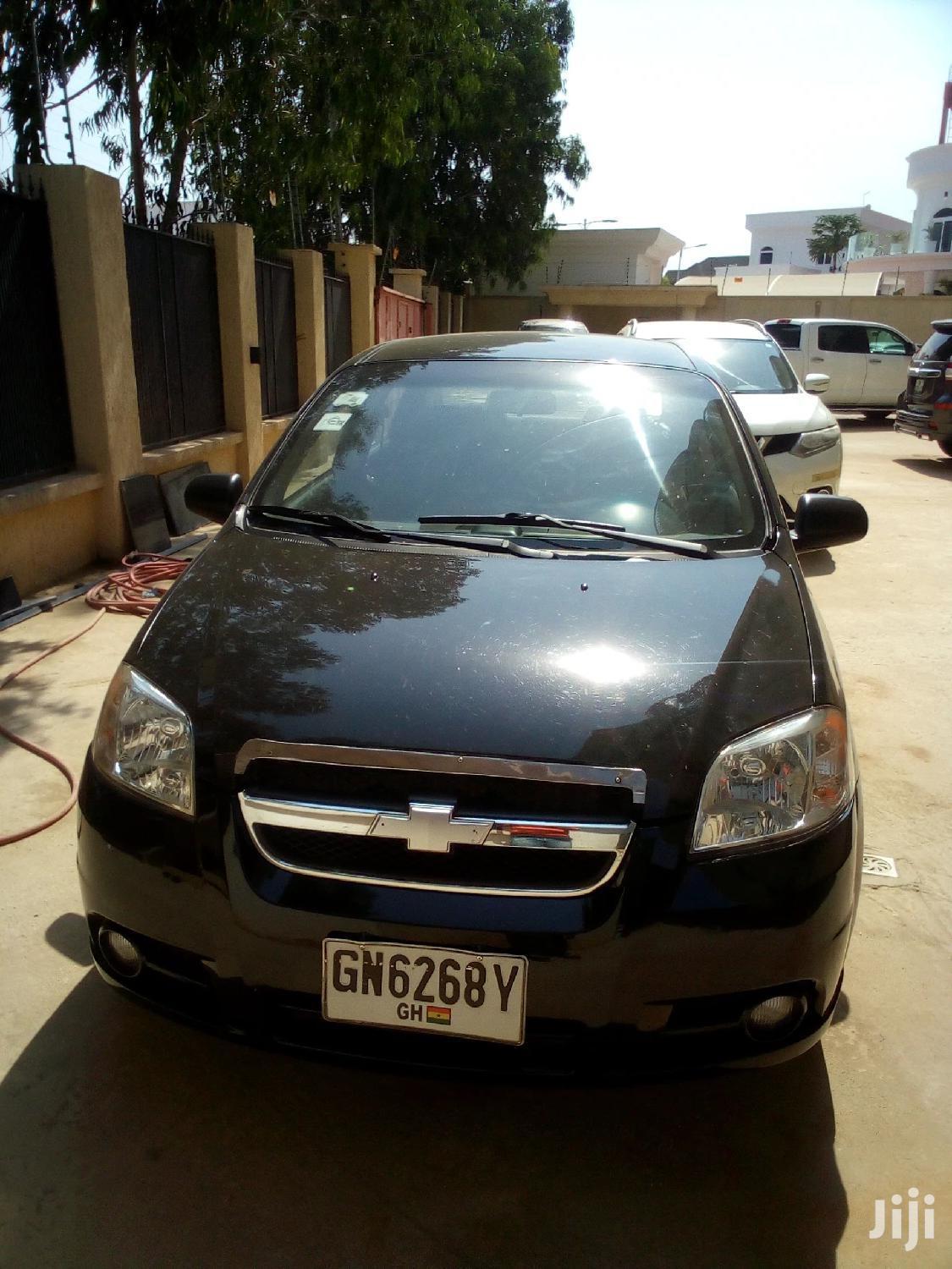 Chevrolet Aveo 2003 Black | Cars for sale in East Legon, Greater Accra, Ghana