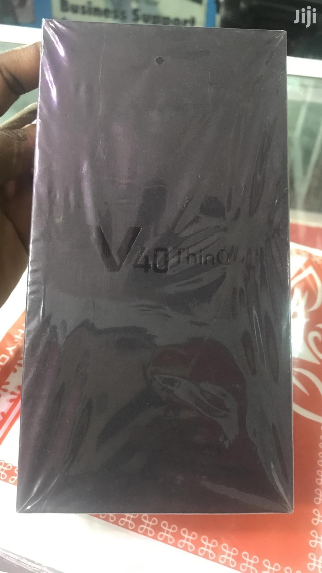 New LG V40 ThinQ 128 GB Pink