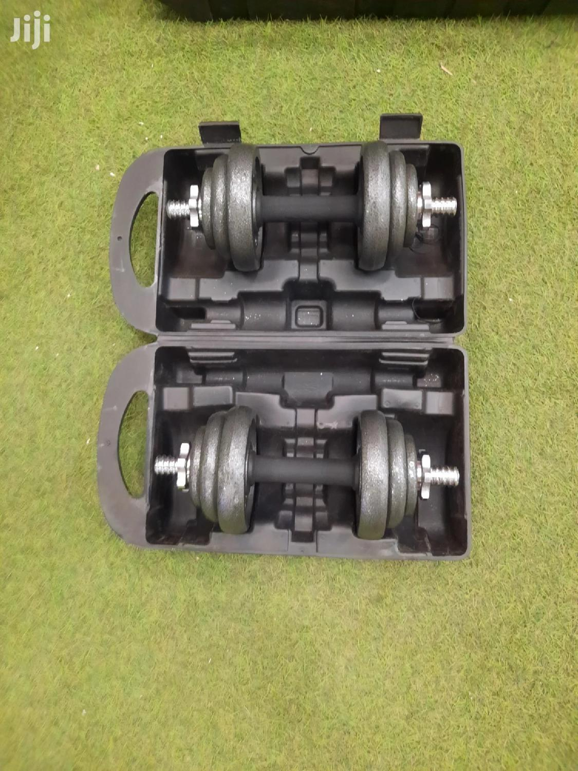 York Fitness 20Kg Dumbbells | Fitness & Personal Training Services for sale in Achimota, Greater Accra, Ghana