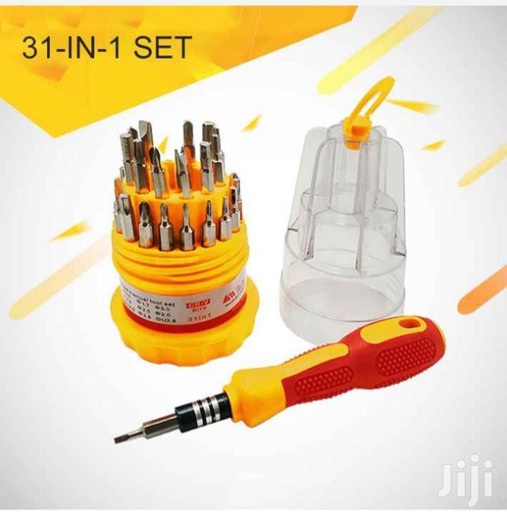 31 In 1 Mini Screw Driver Set Repair Tool Kits