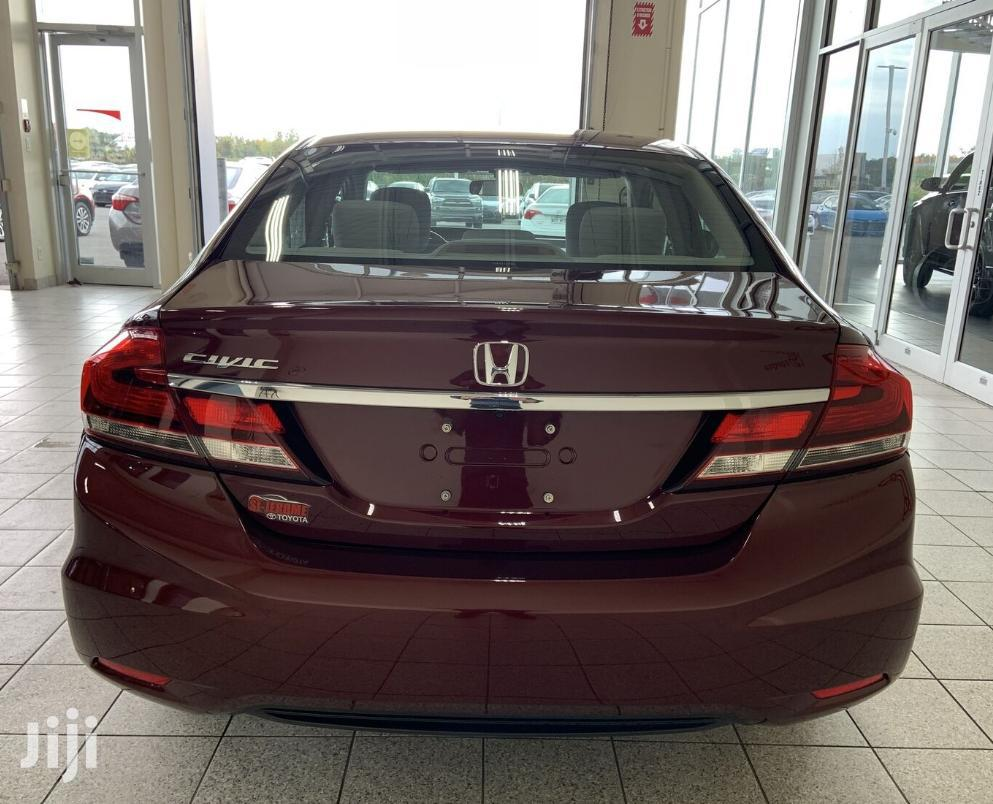 Honda Civic 2015 Red