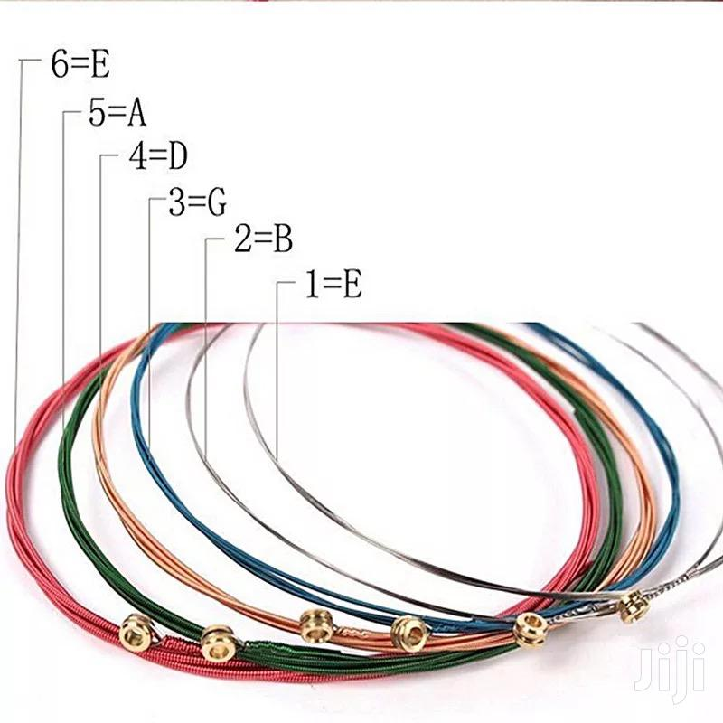 Rainbow Colored Guitar Strings | Musical Instruments & Gear for sale in East Legon, Greater Accra, Ghana