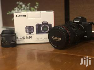 Mirrorless | EOS M50 EF-M 15-45mm IS STM Kit | | Photo & Video Cameras for sale in Greater Accra, Adabraka