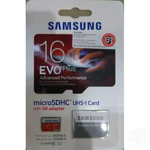 16gb Samsung Evo Plus Clas 10 Micro Sd Memory Card 4K Ult HD | Accessories for Mobile Phones & Tablets for sale in Greater Accra, Akweteyman