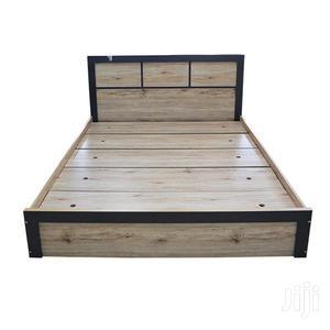 Bed Queen Size Oak   Furniture for sale in Greater Accra, Accra Metropolitan