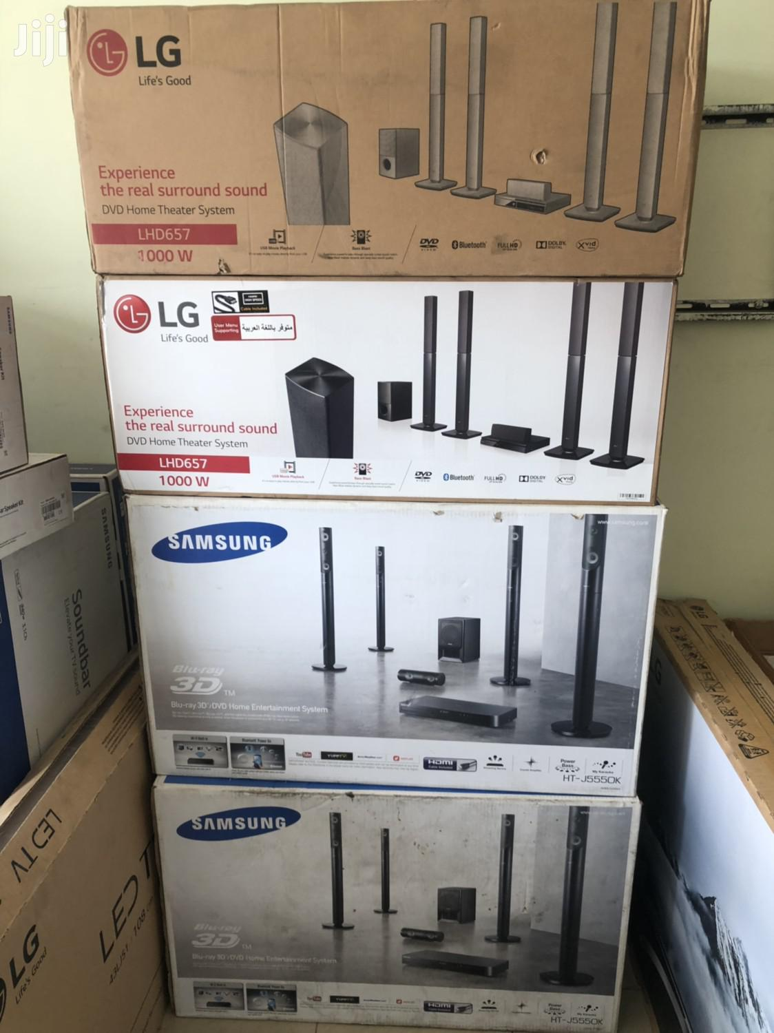 LG 1000W Bluetooth Home Theater System