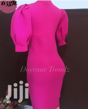 Bubble Sleeves Bodycon Dress | Clothing for sale in Greater Accra, Ga East Municipal