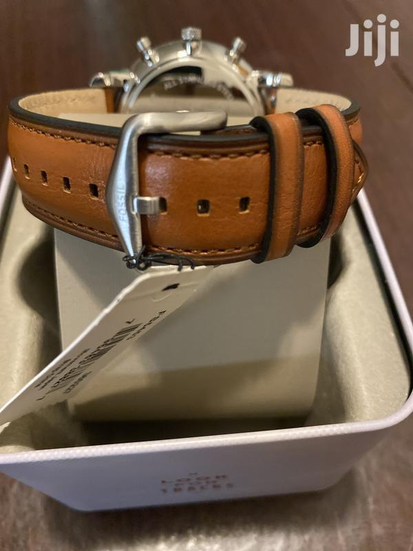Men's Fossil Neutra Brown Strap Chronograph Watch | Watches for sale in Teshie-Nungua Estates, Greater Accra, Ghana