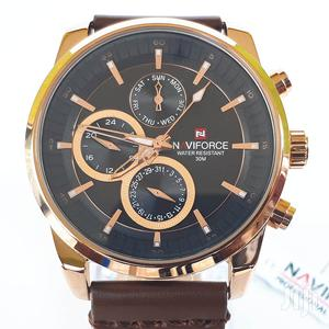 Authentic Naviforce Leather Watch | Watches for sale in Greater Accra, Ashaiman Municipal